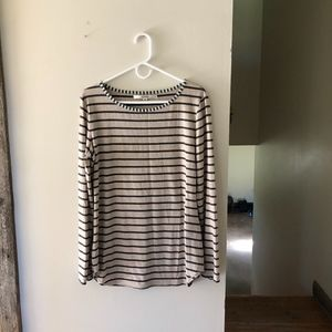 Studio M Striped Long Sleeve